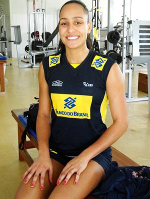 vôlei Ivna brasil seleção de novos (Foto: Helena Rebello / Globoesporte.com)