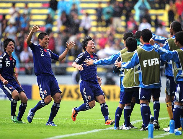 Daisuki Takagi comemora gol do Japão contra a Argentina no sub-17 (Foto: Getty Images)
