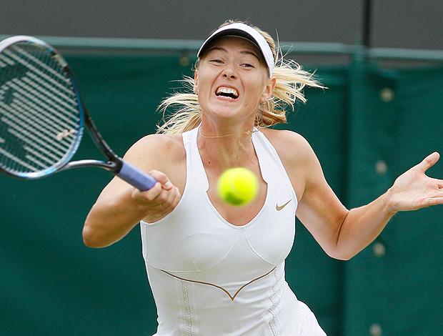 Maria Sharapova tênis Wimbledon 3r (Foto: AP)