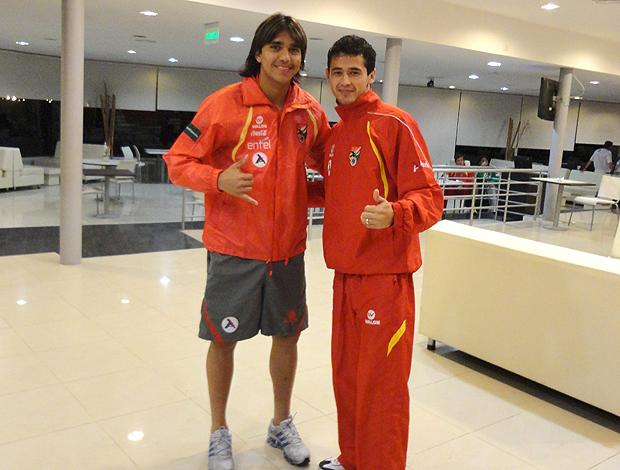 Marcelo Moreno Edivaldo Seleção Bolívia (Foto: Divulgação)