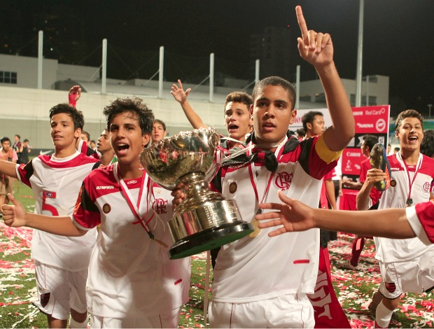 Flamengo campeão Lion City Cup (Foto: Getty Images)