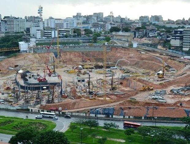obras fonte nova copa do mundo (Foto: Divulgação/Fifa.com)