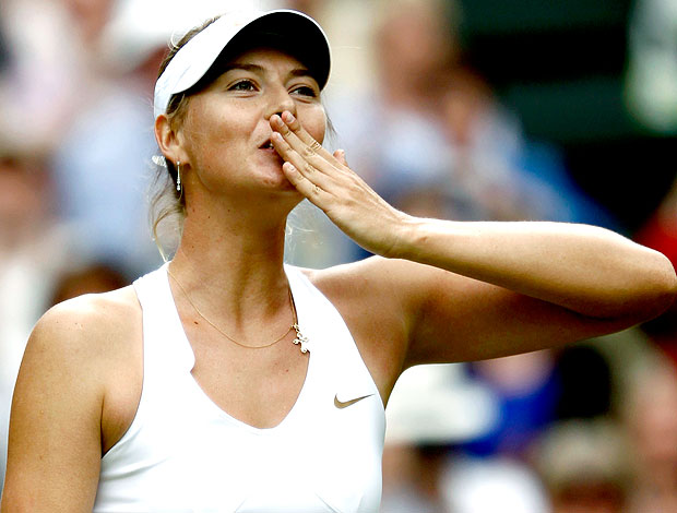 Maria Sharapova gata do dia (Foto: Reuters)