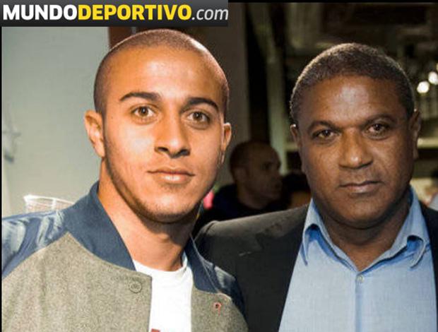 thiago alcantara barcelona contrato mazinho (Foto: Divulgação/Site Oficial)