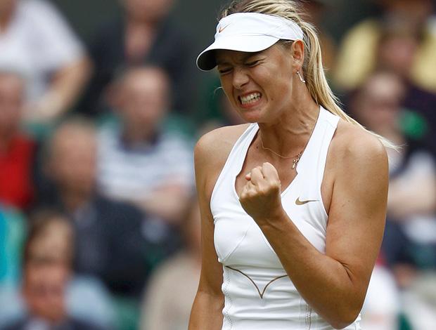Sharapova vence e vai à final de Wimbledon após sete anos