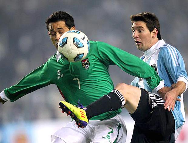 Messi Argentina x Bolívia Copa América (Foto: EFE)