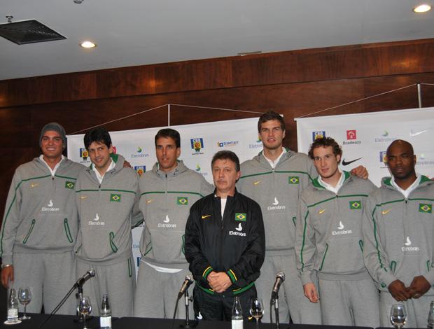 basquete seleção brasileira ruben Magnano (Foto: João Gabriel Rodrigues / GLOBOESPORTE.COM)