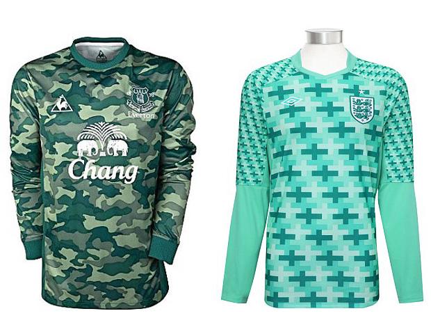 Camisa Everton camisa Inglaterra (Foto: Reprodução)