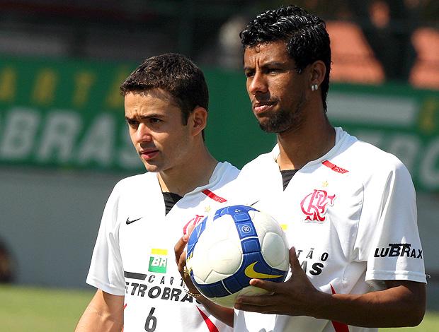 Juan Léo Moura arquivo Flamengo (Foto: Arquivo de foto / Ag. o Globo)