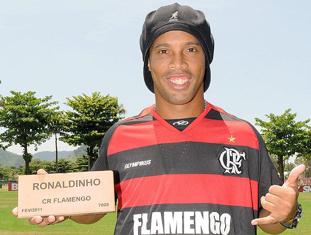 Ronaldinho Rubro-negro para sempre (Foto: Divulgação)