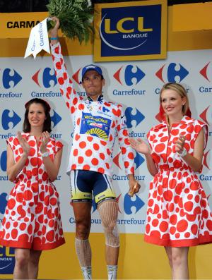 ciclismo Johnny Hoogerland Volta da Franca (Foto: AFP)