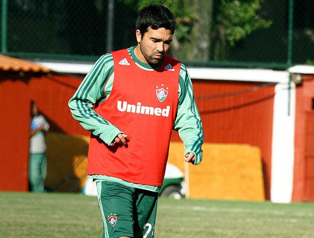 Deco no treino do Fluminense (Foto: Agência Photocâmera)