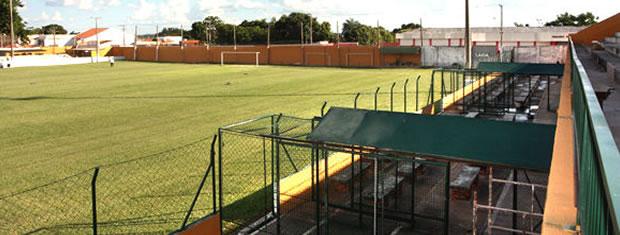 Estádio Presidente Eurico Gaspar Dutra, Dutrinha, em Cuiabá (Foto: Guilherme Filho/Secom-MT)
