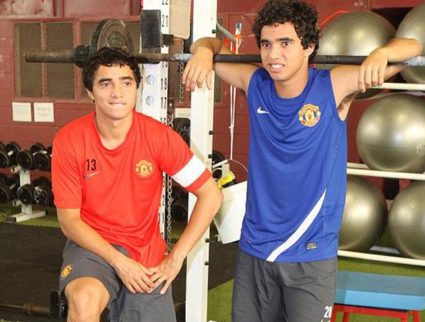 rafael fabio manchester united los angeles (Foto: reprodução Facebook)