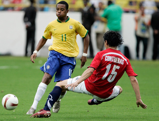 Robinho  Copa América 2007 (Foto: EFE)