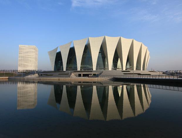 complexo de natação parque aquático china shangai (Foto: Fina.org)