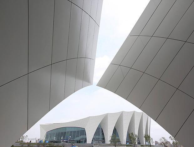complexo de natação parque aquático china shangai (Foto: Agência EFE)