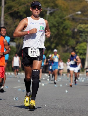Cristiano Marcelino Maratona do RIo corrida (Foto: Divulgação / Arquivo pessoal)