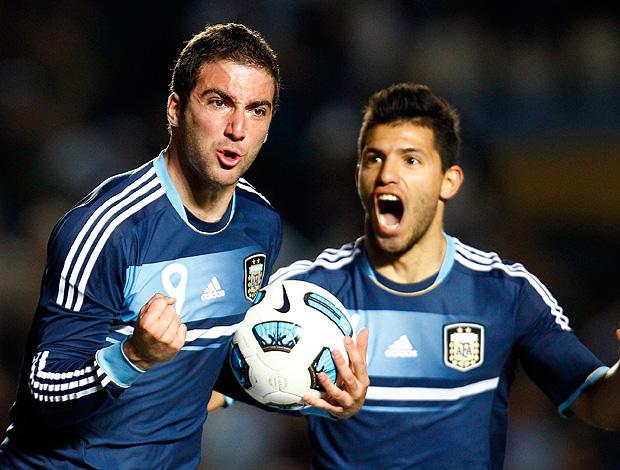 Higuain gol Argentina Copa américa (Foto: Reuters)