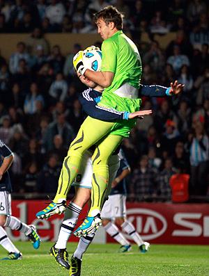 Muslera goleiro Uruguai (Foto: Reuters)