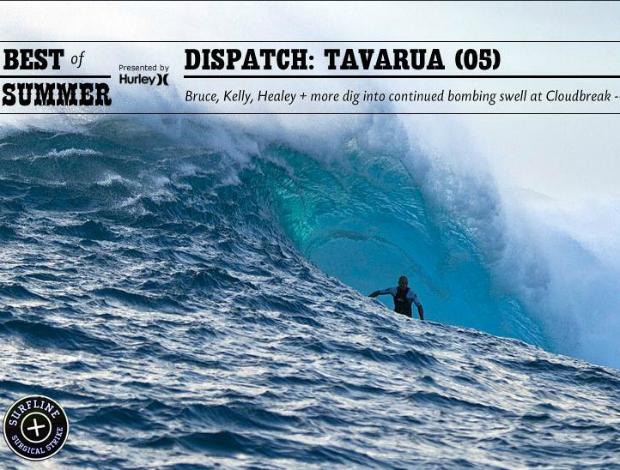 Surfe Kelly Slater Ilhas Fiji (Foto: Reprodução/Surfline.com)