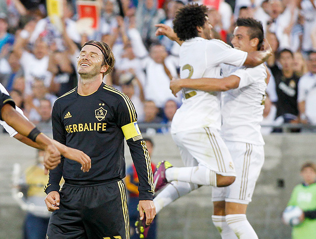 Marcelo Joselu gol Real Madrid Beckham (Foto: Reuters)