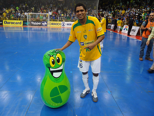 futsal café joão sorrisão  (Foto: Raphael Andriolo / Globoesporte.com)