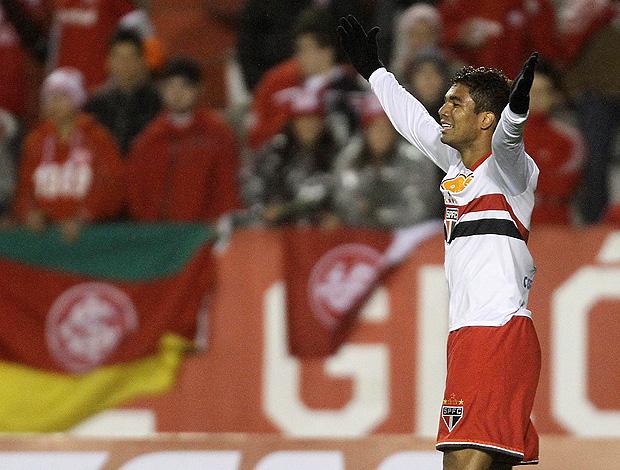 Casemiro gol São Paulo (Foto: Jefferson Bernardes / VIPCOMM)