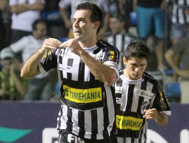 Fabricio gol Ceará (Foto: Ag. Estado)