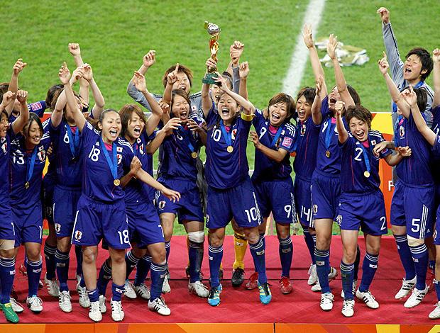 Japão vence copa do mundo feminino (Foto: Reuters)