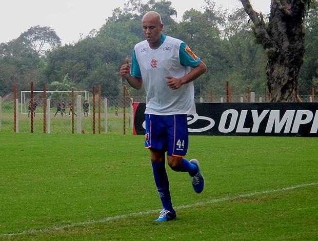 Alex Silva treino Flamengo (Foto: Richard Souza / Globoesporte.com)
