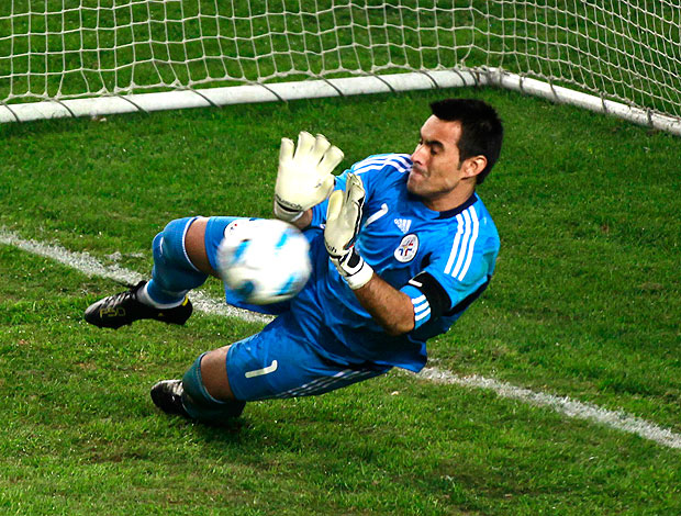 Justo Villar, goleiro do Paraguai (Foto: Reuters)
