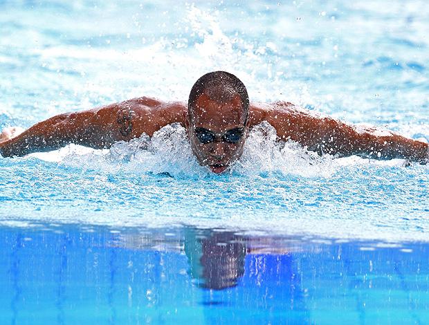 Gabriel Mangabeira natação Jogos Mundiais Militares (Foto: Divulgação)