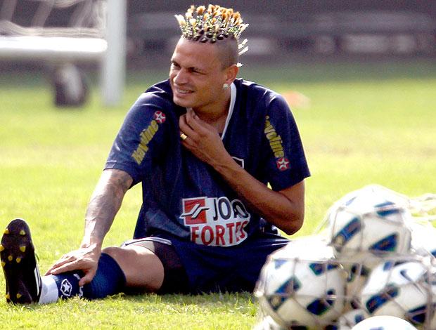 Fabio Ferreira no treino do Botafogo (Foto: Jorge William / Ag. O Globo)
