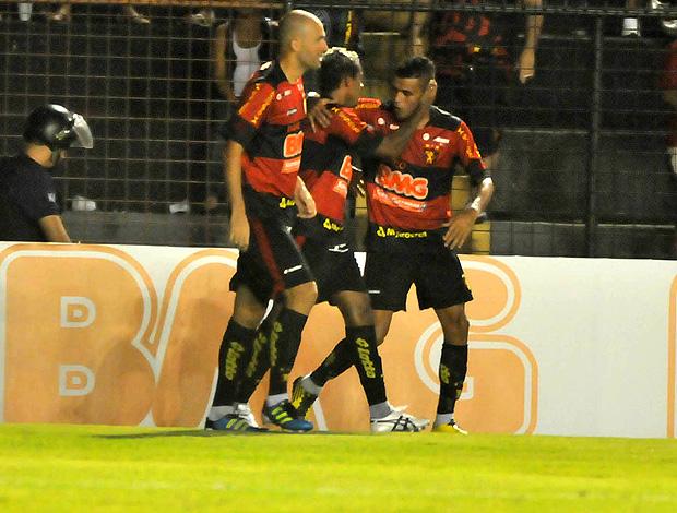 marcelinho paraiba sport gol salgueiro (Foto: Agência Futura Press)