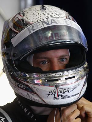 vettel fórmula 1 capacete (Foto: Getty Images)