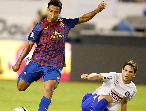 thiago alcantara barcelona Hajduk Split (Foto: Agência Reuters)