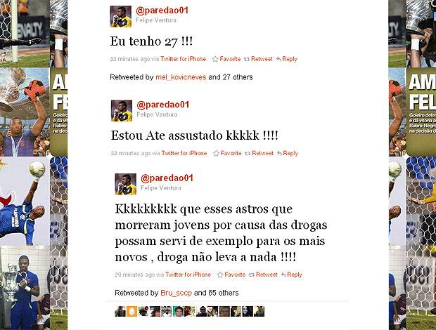 twitter Felipe 27 anos (Foto: Reprodução / Twitter)