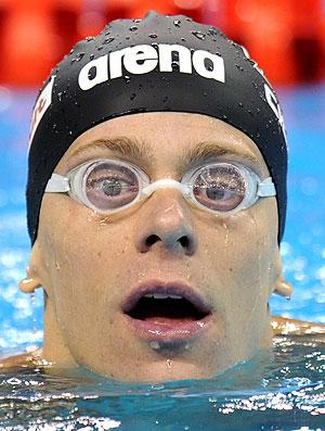 Cesar Cielo no Mundial de natação em Xangai (Foto: AFP)