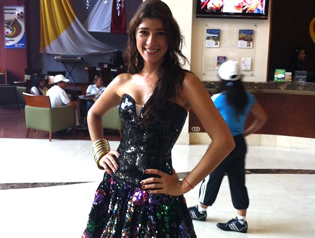 Andrea Char, rainha do carnaval 2012 (Foto: Victor Canedo / Globoesporte.com)