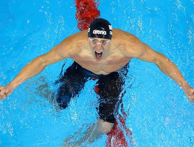 cesar cielo 50m borboleta mundial natação xangai (Foto: Agência Reuters)
