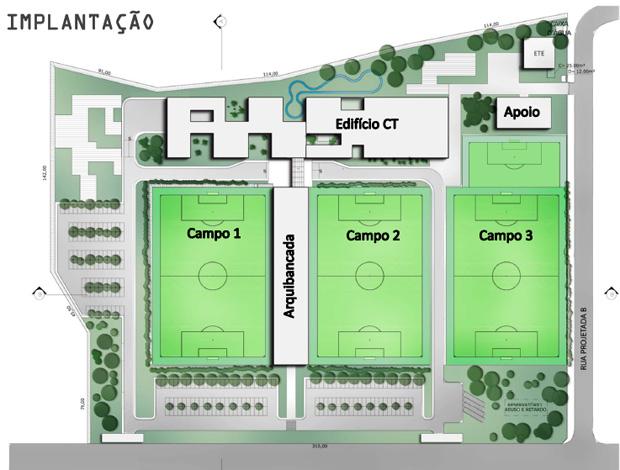 ct cbf seleção brasileira (Foto: Reprodução )