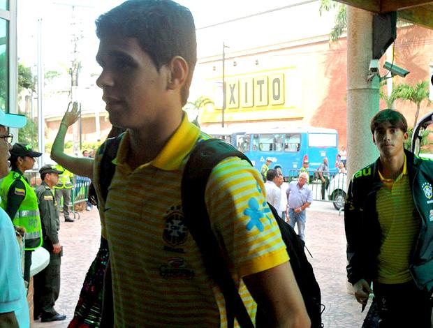 oscar brasil sub 20 mundial colômbia (Foto: Victor Canedo / Globoesporte.com)