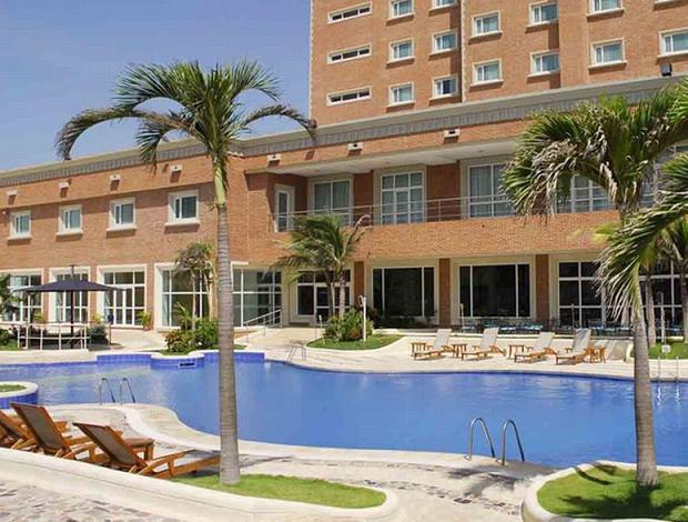 Hotel Dann Carlton seleção Sub 20 (Foto: Divulgação)