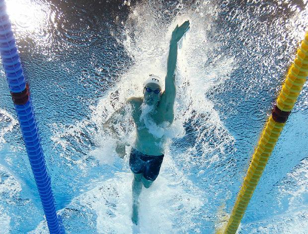 200m livre.yannick agnel avançou em primeiro mundial de natação (Foto: Agência Reuters)