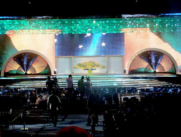 evento da FIFA (Foto: Márcio Iannacca / GLOBOESPORTE.COM)