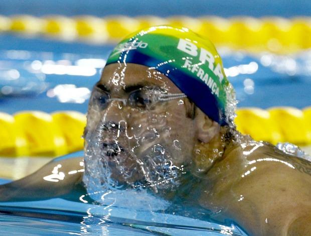 Felipe França Mundial de natação Xangai 50m peito (Foto: Reuters)