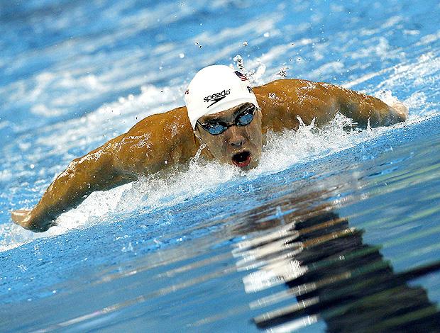 michael phelps mundial de natação 100 livres (Foto: Agência EFE)