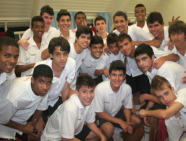 São Paulo sub-15 preleção geração moicanos (Foto: Cahê Mota / Globoesporte.com)