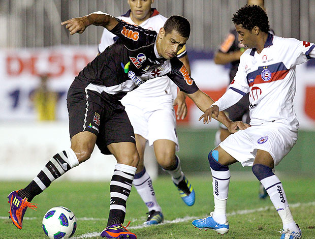 Diego Souza no jogo do Vasco contra o Bahia (Foto: Jorge William / Ag. O Globo)